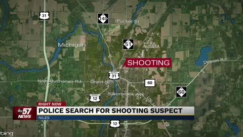 Search continues for Niles Michigan shooting suspect